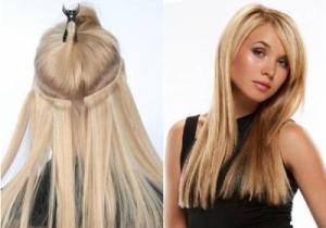 Наращивание волос, модные тенденции